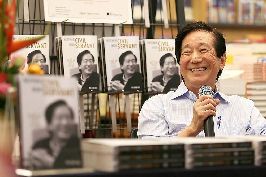 """Mr Yeo said he was pleased that his memoir was a """"catalyst for many generous donations""""."""