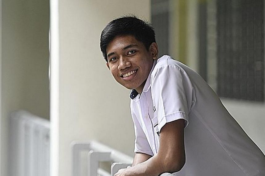 "Previously an ""unapproachable"" and ""defiant"" student in Secondary 2, Shahrukh Navin Sundram worked hard to improve his grades the following year and now hopes to work in the maritime industry."