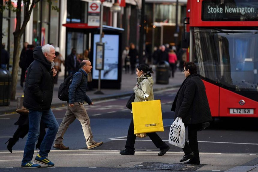 Consumer prices in Britain rose 1.6 per cent in December compared to a year earlier.