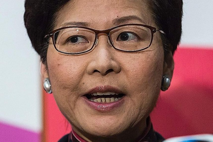 Mrs Carrie Lam will run, but Financial Secretary John Tsang has not yet declared his bid for the top job.