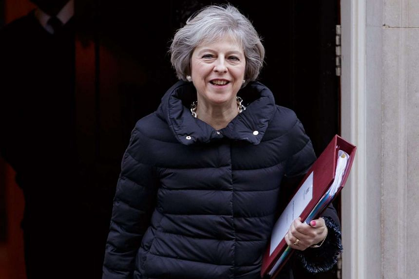 Britain's Prime Minister Theresa May has said she would trigger Article 50 of the EU's Lisbon Treaty, the formal means of exiting the bloc, by the end of March.