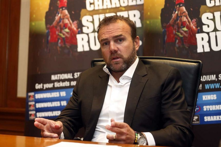 Sanzaar chief executive officer Andy Marinos talks about the 2017 Super Rugby season, in which Singapore's adopted team Sunwolves will play three matches at the Singapore Sports Hub.