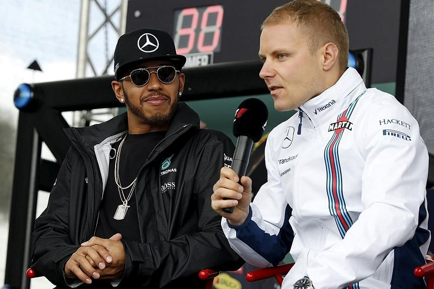 They were in different teams at last year's Australian Grand Prix, but new Mercedes GP driver Valtteri Bottas is looking forward to a good relationship with team-mate Lewis Hamilton.