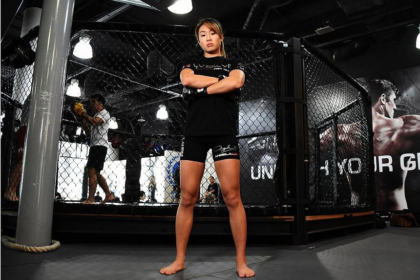 MMA fighter Angela Lee will be making the first title defence of her  atomweight belt against