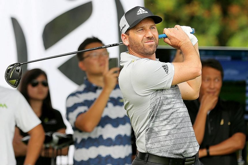 Fans will be relishing Sergio Garcia's gung-ho approach to golf when he tees off for the first time at the Singapore Open.