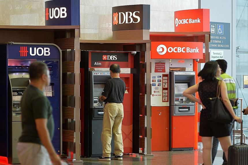DBS, OCBC and UOB are grappling with higher levels of non-performing loans through their exposure to the struggling oil and gas sector.