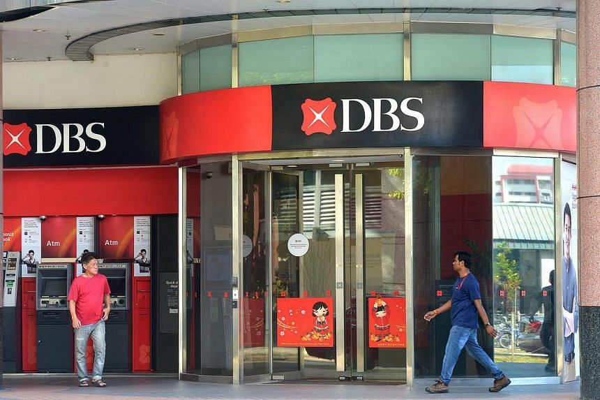 Development Bank of Singapore (DBS) at Tampines Central.