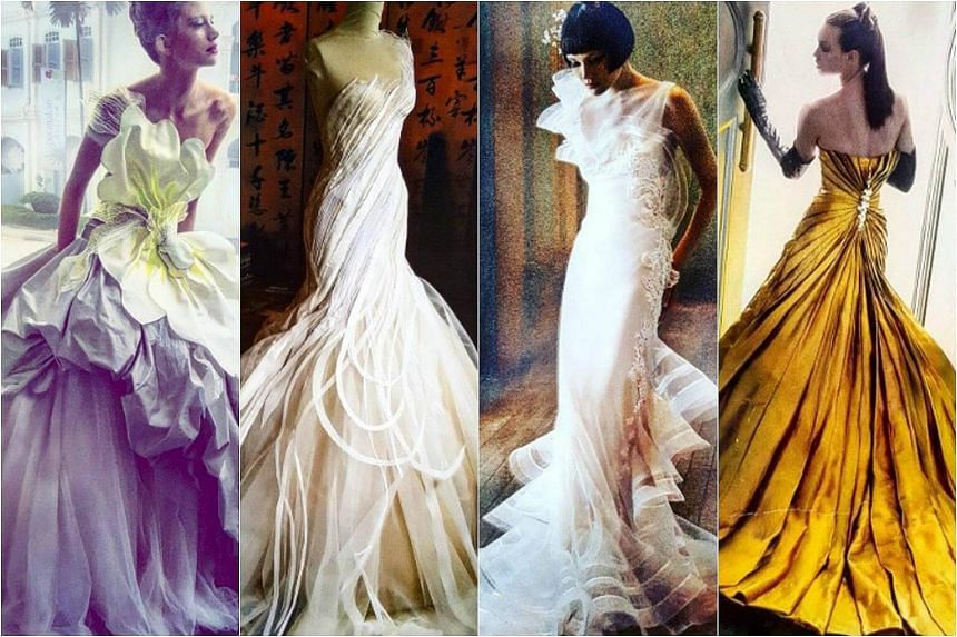 The late Tan Yoong was known for his award-winning designs, intricate craftsmanship and glamorous wedding gowns.