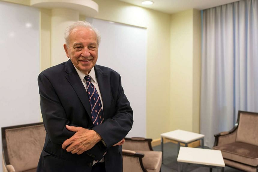 """""""Teaching can sometimes be a big help towards research,"""" said Professor Rudolph A.Marcus."""