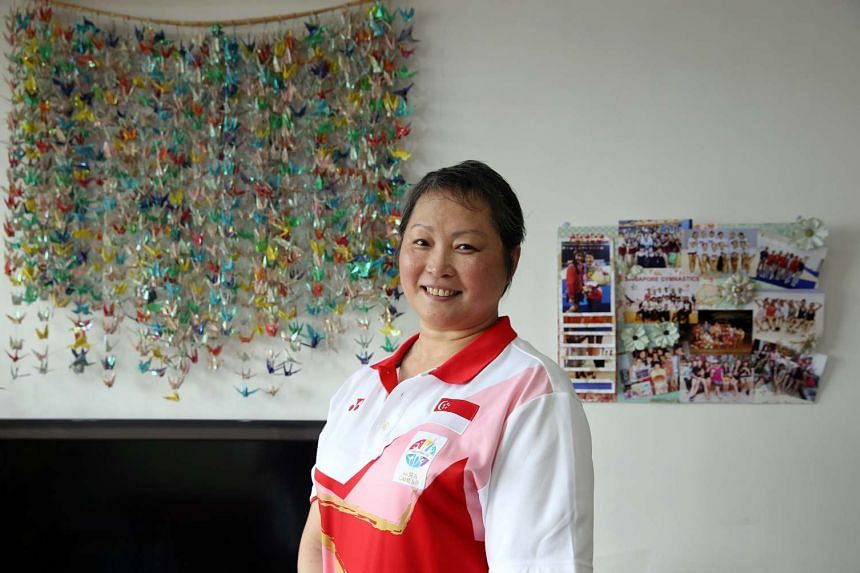 Ms Zhu Xiaoping, whocoached Singapore's Rhythmic Gymnastics athletes for SEA Games 2015,  died on Thursday morning (Jan 19).