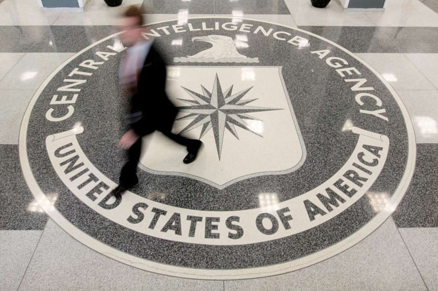 The lobby of the CIA Headquarters Building in Langley, Virginia, on Aug 14, 2008.