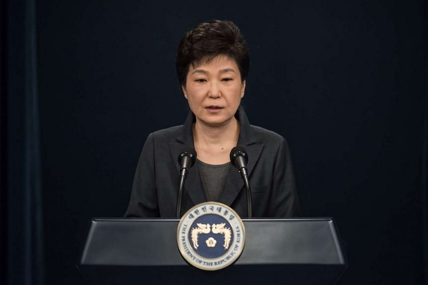 South Korean President Park Geun Hye is said to have a blacklist of actors, writers and others who she thinks have gone too far.