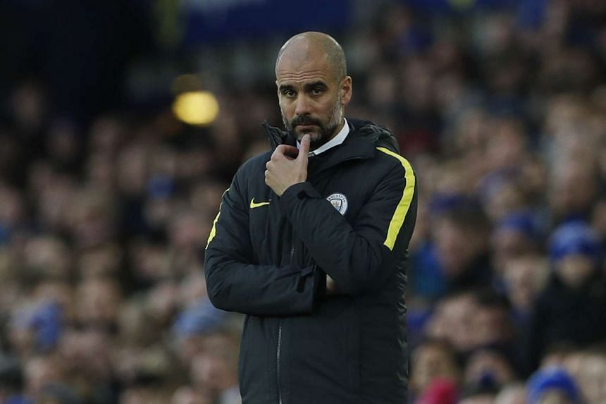 Former Barcelona defender Eric Abidal believes it is only a matter of time before Pep Guardiola (above) succeeds at the Etihad Stadium.