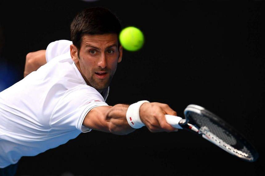 Novak Djokovic (above) lost to Denis Istomin 7-6 (10-8), 5-7, 2-6, 7-6 (7-5), 6-4.