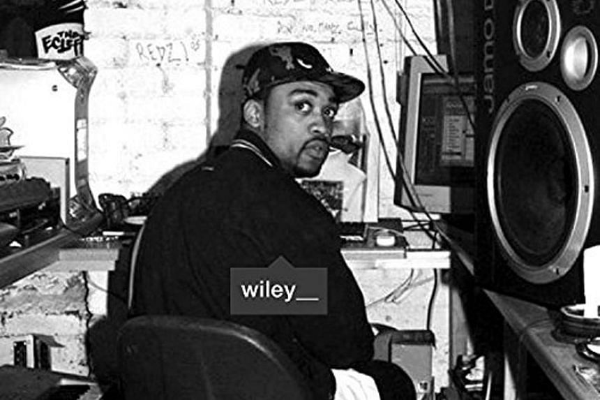 Grime Godfather by Wiley.