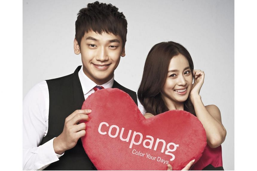 South Korean stars Rain (left) and Kim Tae Hee were married in central Seoul on Jan 19, 2017.