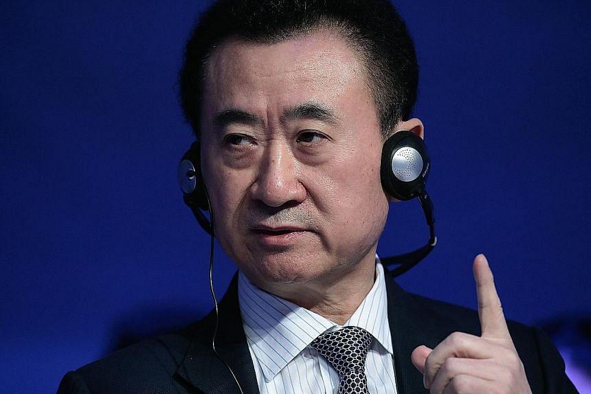 Dalian Wanda Chairman Wang Jianlin