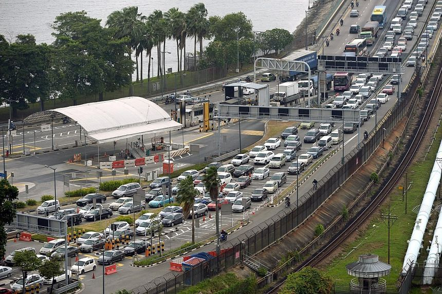 The move to bar foreign vehicles with unpaid toll fees from entering or leaving Singapore comes after the LTA was rapped for undercollecting up to $14 million in charges. The Transport Ministry says LTA's collection system at the checkpoints was not