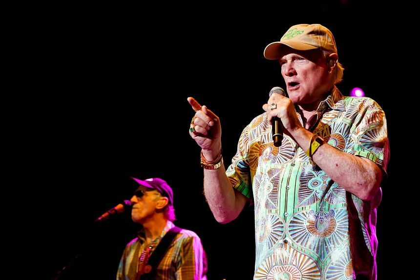 The Beach Boys are known to blend performances with politics.