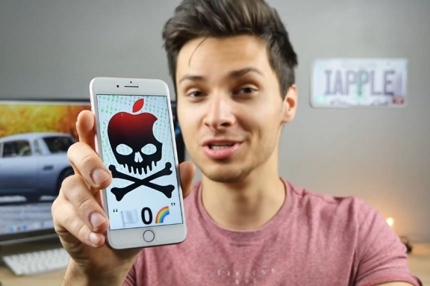 The bug was originally reported by YouTuber EverythingApplePro (above), which has a history of reporting on iPhone crash pranks.