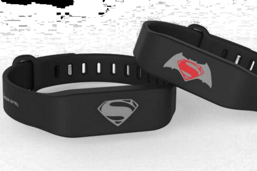 Batman v Superman Fitness Tracker X EZ-Link.