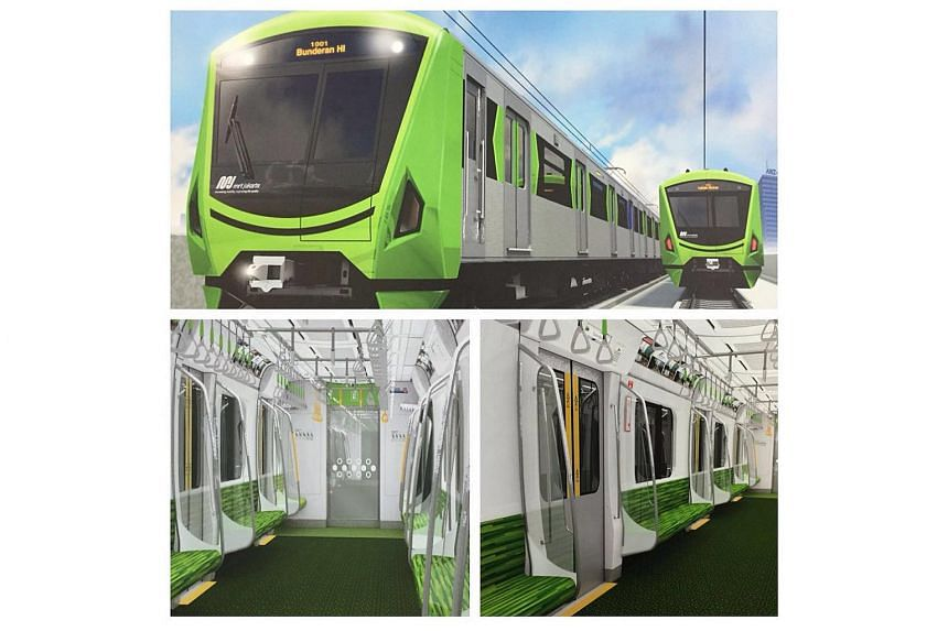 """Jakarta's acting governor Sumarsono declared the design for the new MRT trains unsatisfactory as they looked like """"crickets""""."""