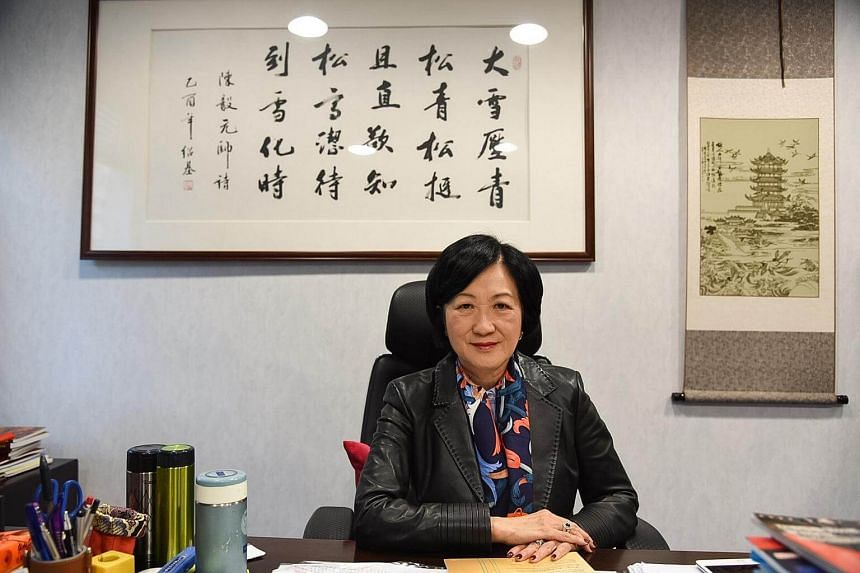 Hong Kong's former security chief and Chief Executive election contender Regina Ip.