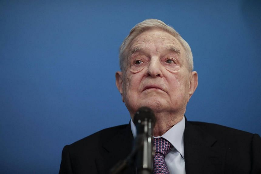George Soros, billionaire and founder of Soros Fund Management LLC, pauses during a Bloomberg Television interview at the World Economic Forum (WEF) in Davos, Switzerland, on Jan 19, 2017.