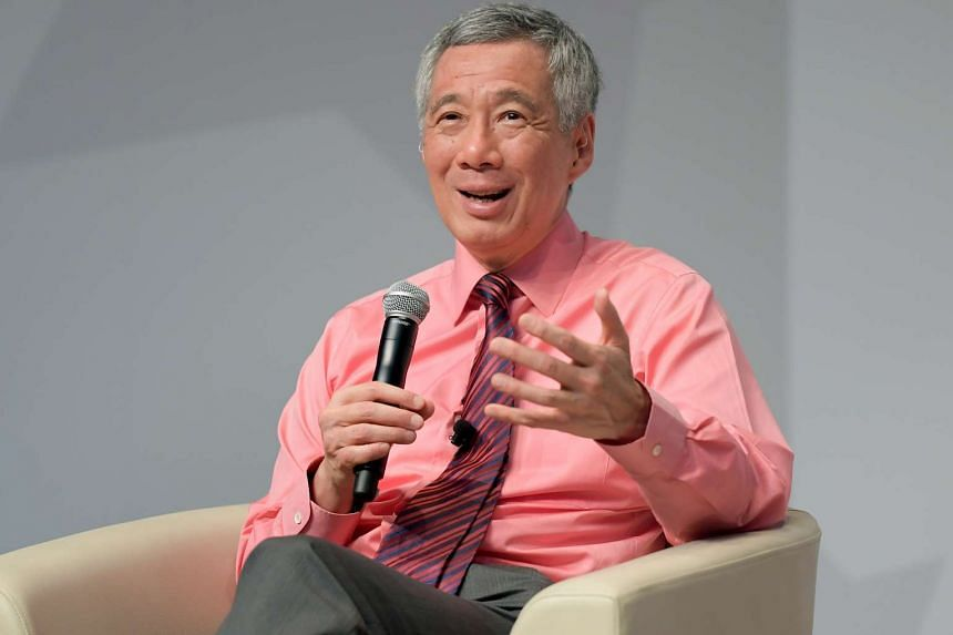 Prime Minister Lee Hsien Loong said that the search for Singapore's fourth prime minister is progressing and that the public can make their own assessments of the contenders.