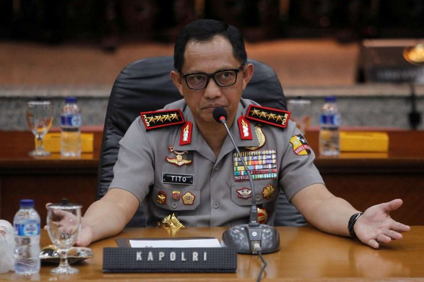 General Tito Karnavian said police deployment on Riau Islands would be increased to around 12,000 from the current 5,000.