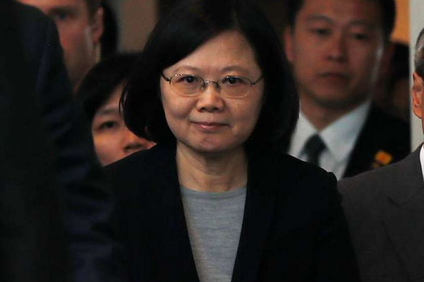 "Taiwan President Tsai Ing-wen wrote to the Pope: ""Upholding peace requires ample goodwill and communication. I am convinced that military action cannot resolve problems."""