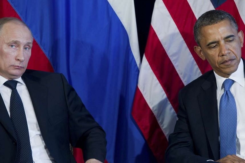 President Barack Obama meets with Russian President Vladimir Putin at the Group of 20 summit meeting in Los Cabos, Mexico, on June 18, 2012.