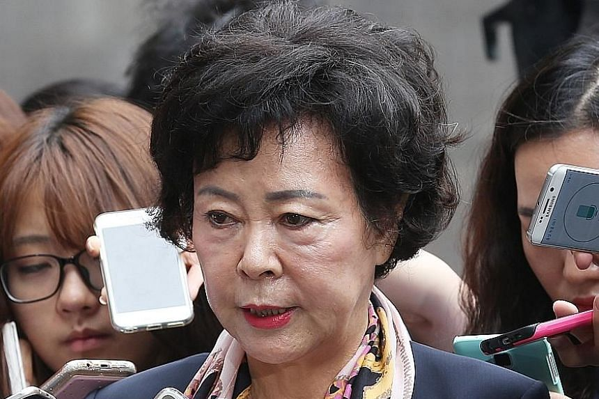Shin Young-Ja was yesterday also ordered to forfeit $1.7million.