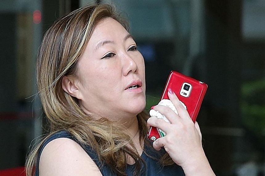 Jasmine Tay had been sentenced to eight weeks' jail for contempt of court, after she withdrew $3,000 from her bank account despite an injunction to freeze her assets. She was embroiled in a dispute with an Indonesian tycoon over a Botero sculpture.