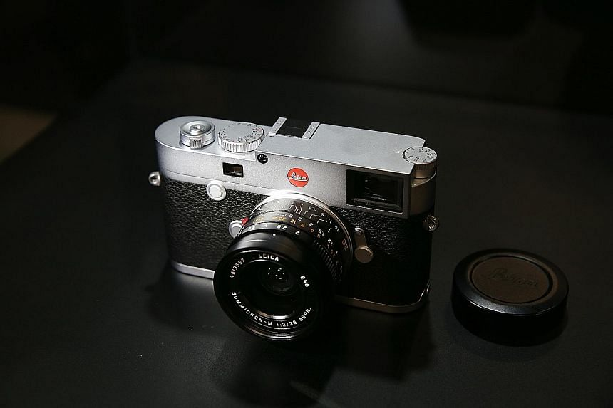 The Leica M10 is assembled by hand in Germany.