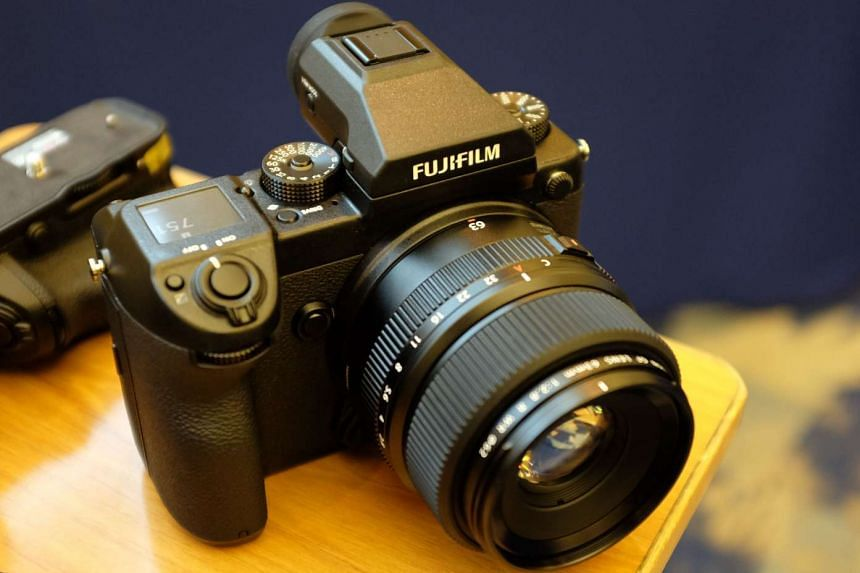 The Fujifilm GFX 50S is a medium format mirrorless camera that is only the size of a full-frame DSLR.