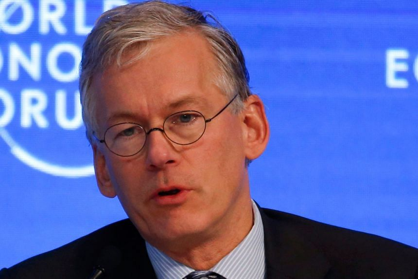 HOW TECHNOLOGY HELPS: With 3D printing, for example, some of the supply chain will re-shore and come back to the local economies. - MR FRANS VAN HOUTEN, chief executive of Dutch healthcare technology group Philips, on technological advances helping c