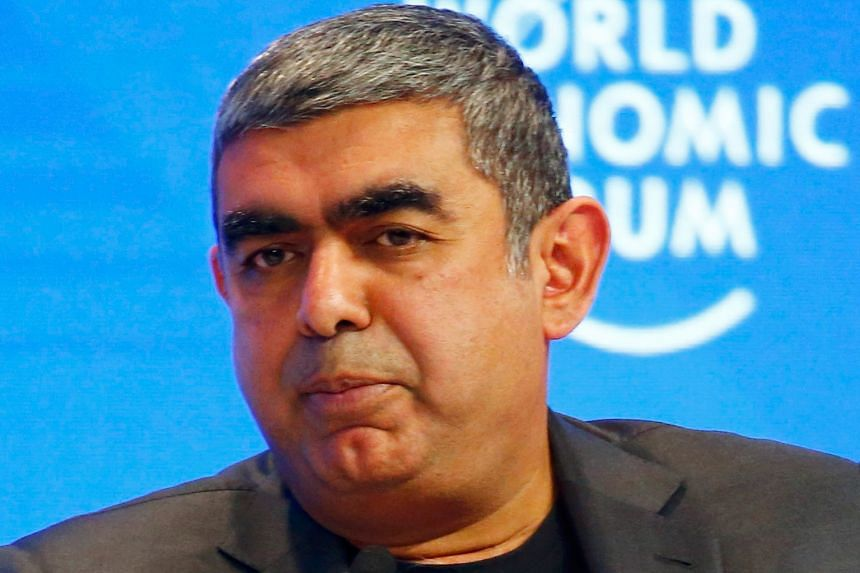 A BUSINESS OPPORTUNITY: The irony is that when more walls show up, it is a good opportunity for services companies to help do business across those walls. - MR VISHAL SIKKA, chief executive of IT services provider Infosys, on Mr Trump's promise to br