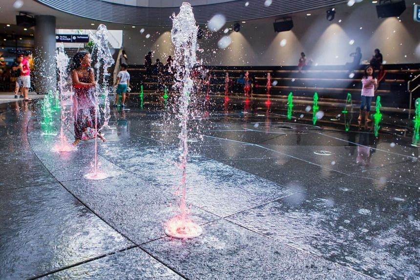 Waterway Point said it has thoroughly cleaned and disinfected the mall's play areas.
