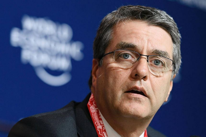 World Trade Organization (WTO) Director General Roberto Azevedo speaking during a press conference on the sidelines of the World Economic Forum, on Jan 20, 2017, in Davos.