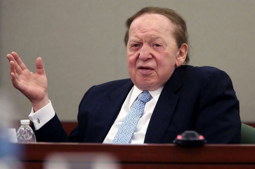 From 2006 to 2009, Las Vegas Sands, run by billionaire Sheldon Adelson, transferred about US$60 million (S$86 million) to a consultant to promote its business and brands.
