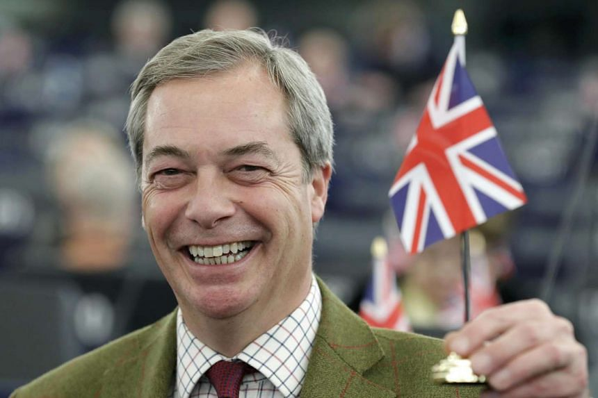 """Brexit leader Nigel Farage """"will offer political analysis"""" for Fox News Channel and Fox Business Network."""
