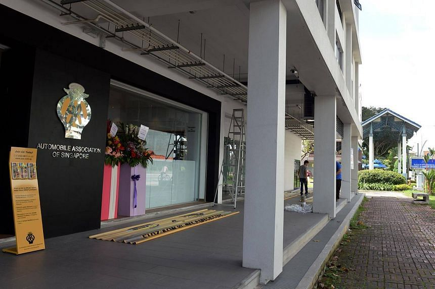 The Automobile Association of Singapore's (AA Singapore) current premise in GB Point in Kallang Bahru. A new seven-storey building to house AA Singapore is set to be completed by the last quarter of 2018.