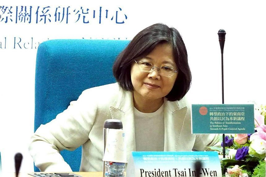 Taiwan President Tsai Ing-wen congratulated US President Donald Trump and Vice President Mike Pence on being sworn into office.
