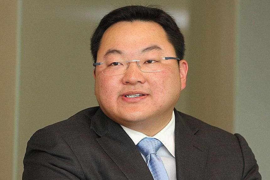 The family of Malaysian businessman Jho Low (above) claims the Swiss trustees holding its assets are afraid to fight back against the US for fear of being prosecuted.
