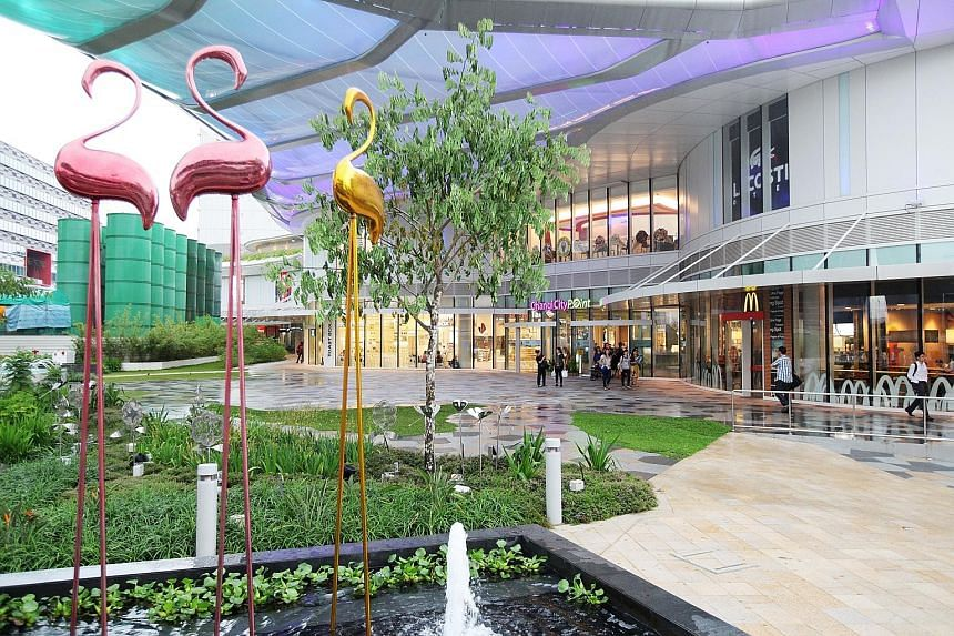 Occupancy at Changi City Point rose with the opening of NTUC FairPrice Finest supermarket in October.