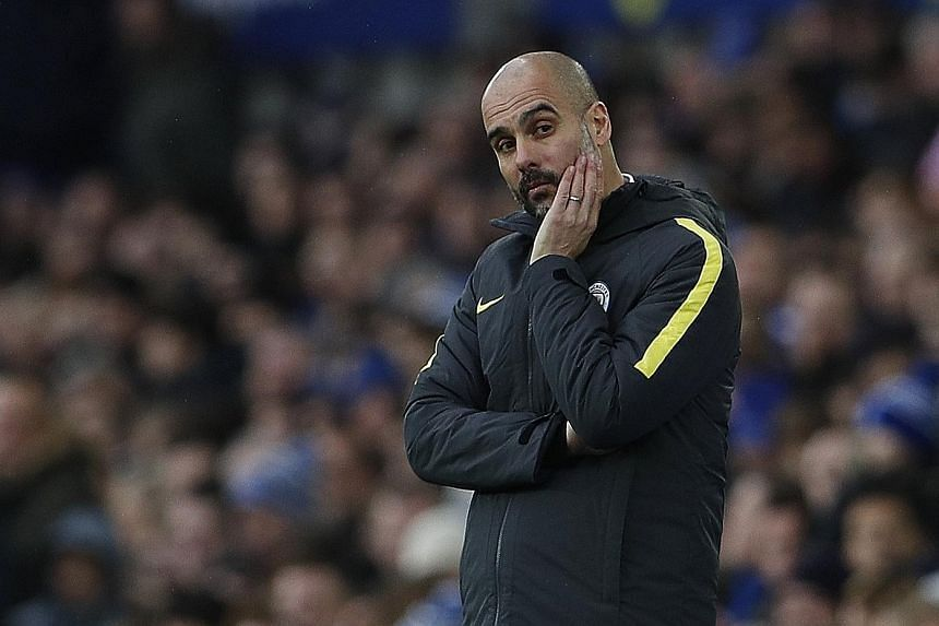 """Ahead of his side's crunch game against an in-form Tottenham, Manchester City coach Pep Guardiola has stated he is """"happy"""" at the Etihad."""
