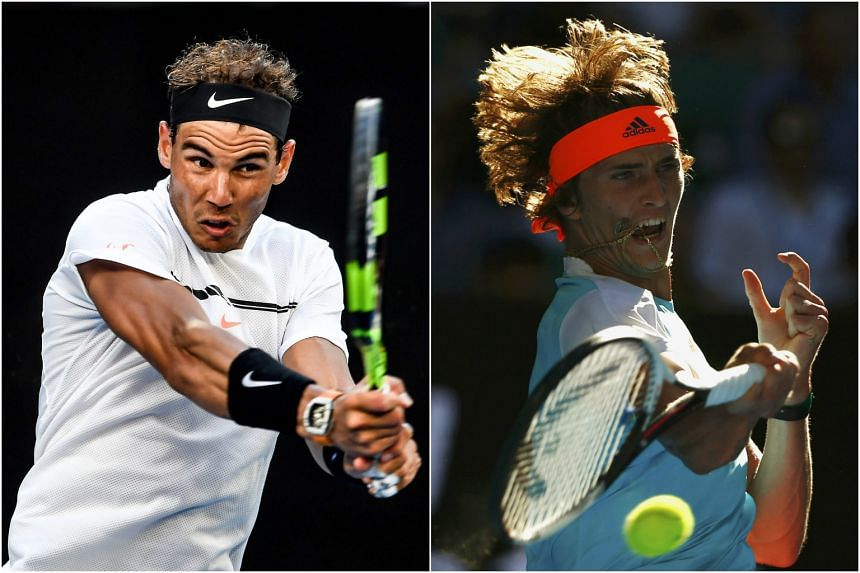 (From left) Rafael Nadal, a grand champion who won because he found enough of his old warrior self, and Alexander Zverev, the game's brightest new talent who showed us some of his best self.