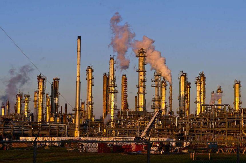 A Flint Hills Resources oil refinery in Corpus Christi, Texas, on Jan 7, 2016.
