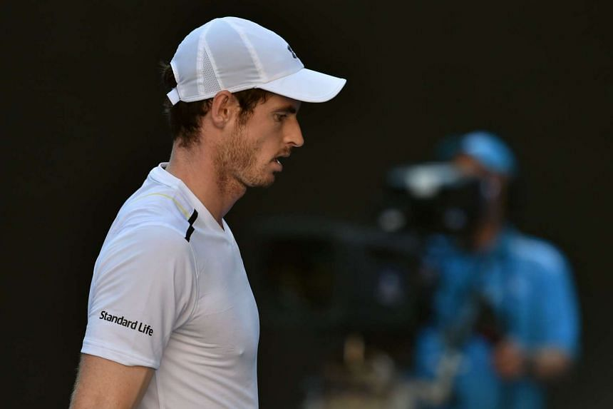 Andy Murray failed to win a maiden Australian Open title he was knocked out in the fourth round by Mischa Zverev.